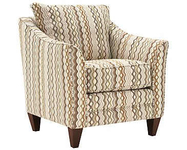 Grant2 Multicolored Fabric Accent Chair