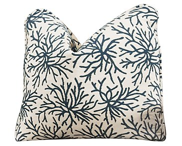 Dafney Multi Fabric Square Accent Pillow