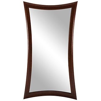 Zander Brown Floor Mirror