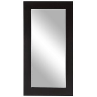 Meesha Dark Brown Floor Mirror