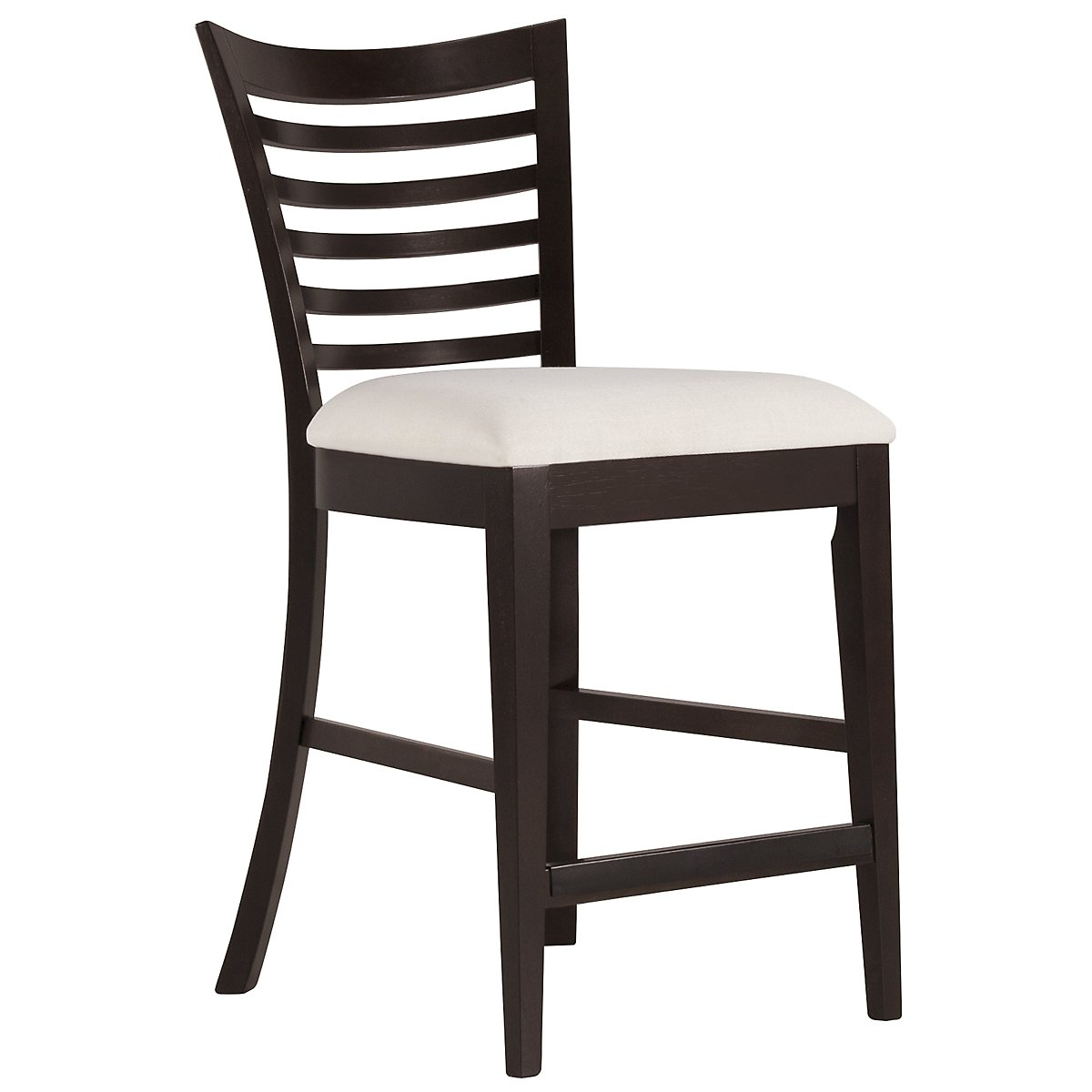 "Sanibel Dark Tone 24"" Wood Barstool"