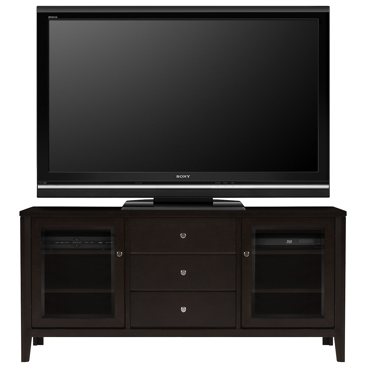 "Sanibel Dark Tone 62"" TV Stand"