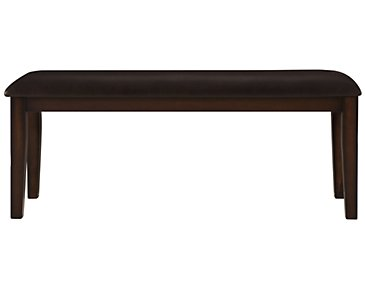 Mango2 Dark Tone Dining Bench