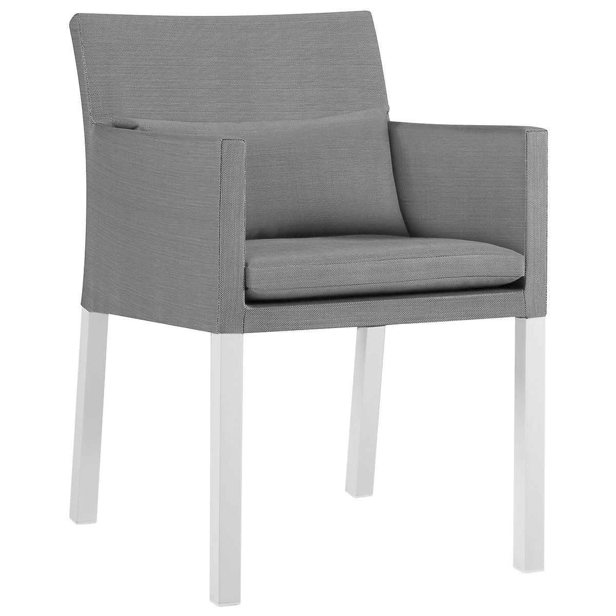 Lisbon Gray Cushioned Chair