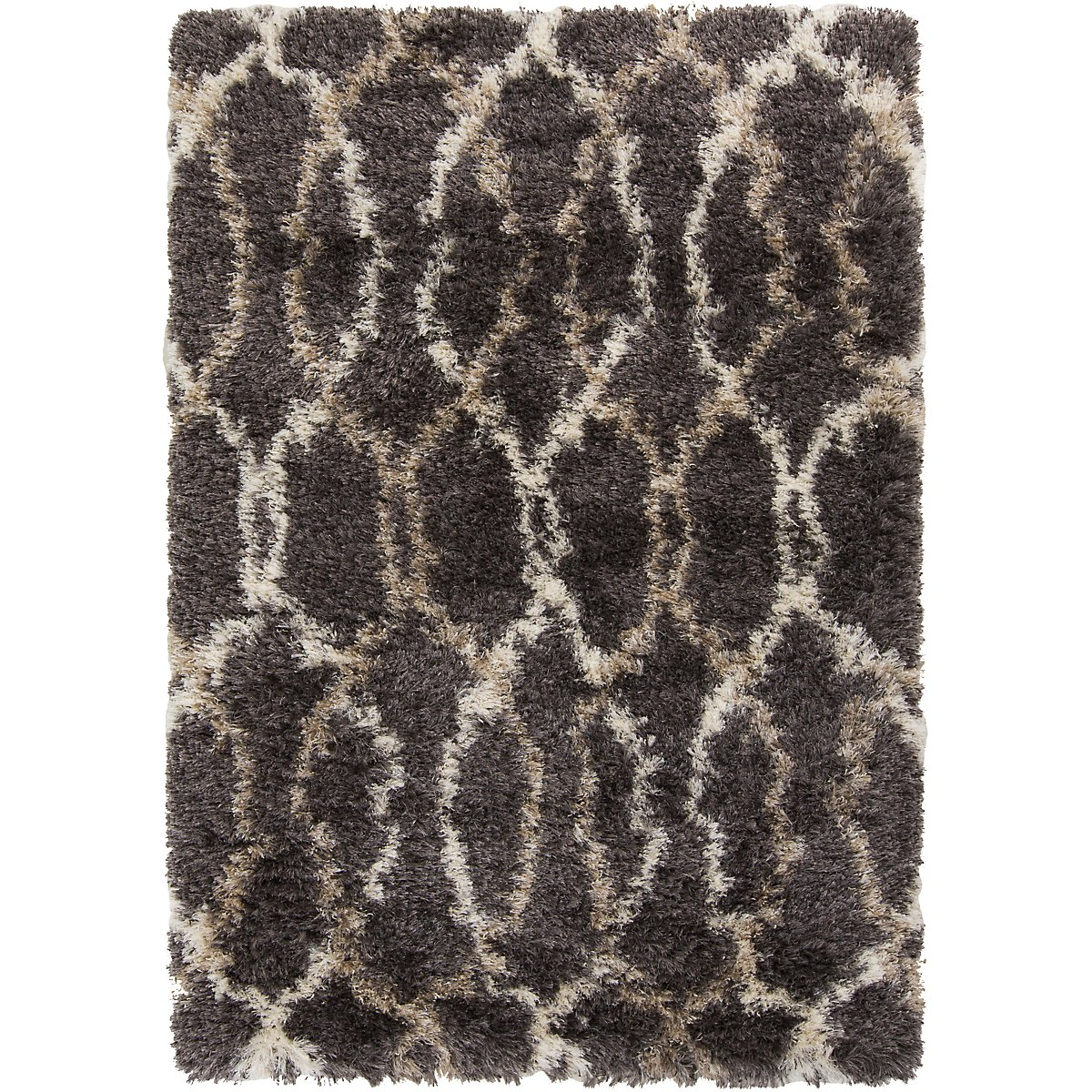 Rhapsody Dark Gray 5X8 Area Rug