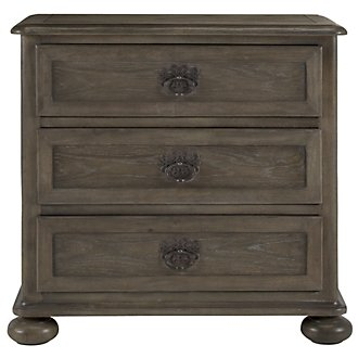Belgian Oak Light Tone Large Drawer Nightstand
