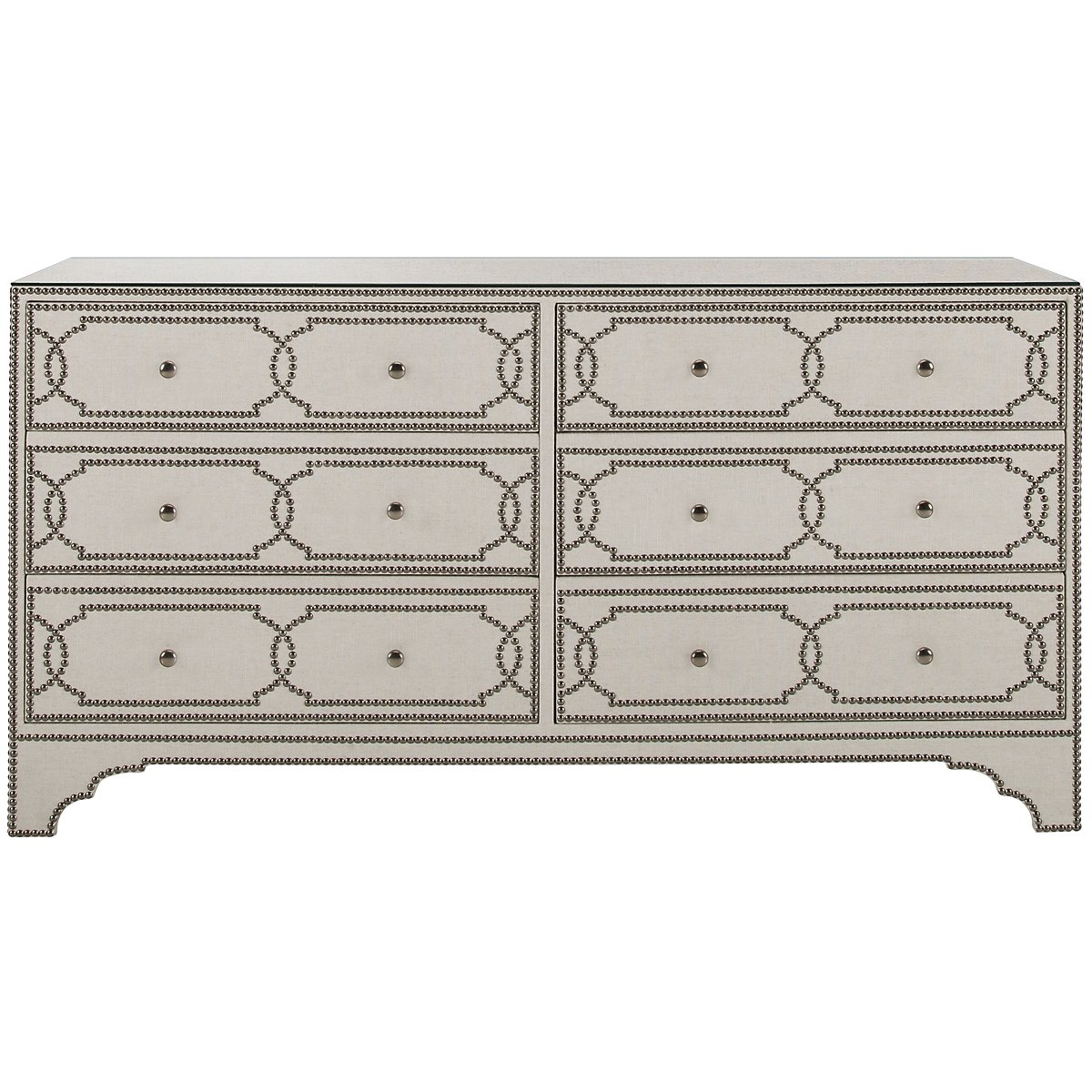 Cabrillo Light Beige Linen Dresser