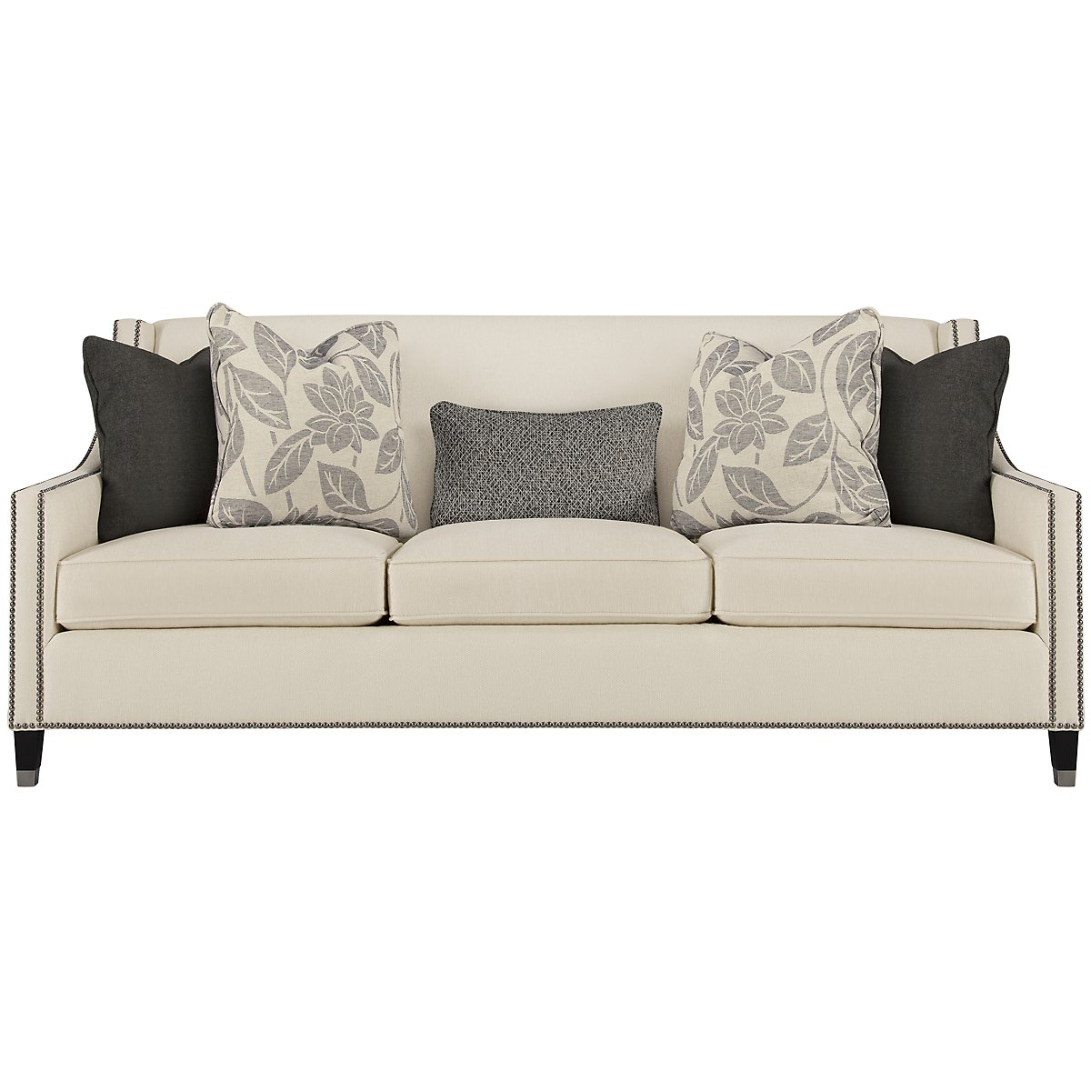 Palisades Light Beige Fabric Sofa