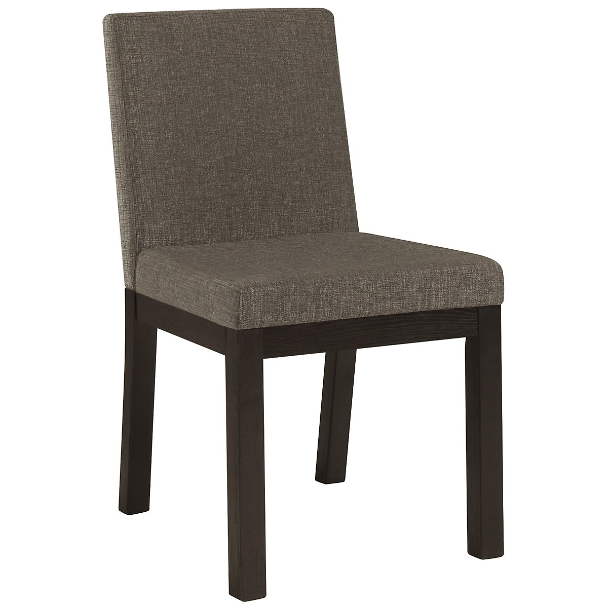 Tocara Dk Gray Upholstered Side Chair