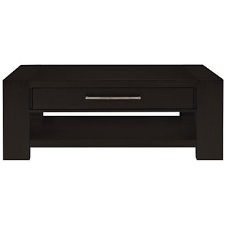 Tocara Dark Tone Storage Rectangular Coffee Table
