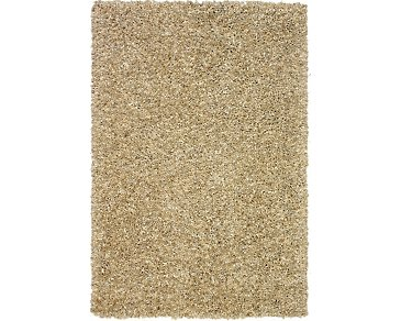 Utopia Light Beige 5X8 Area Rug