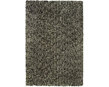Utopia Gray 5X8 Area Rug