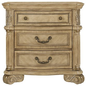 Product Image: Regal Light Tone Wood Nightstand