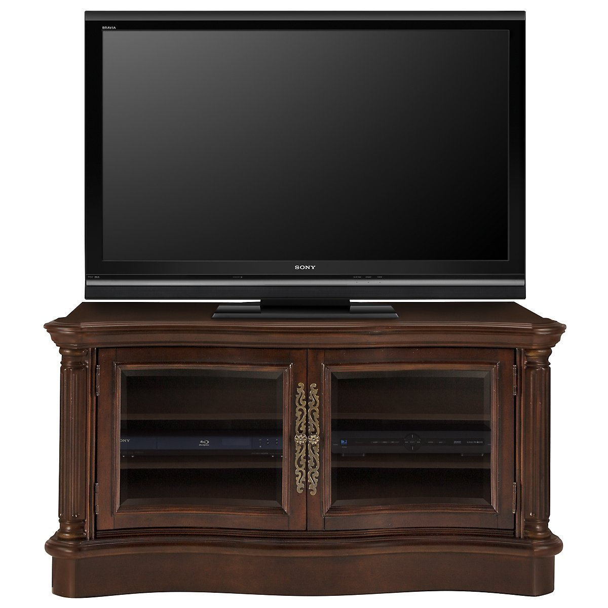 "Regal Dark Tone 54"" TV Stand"
