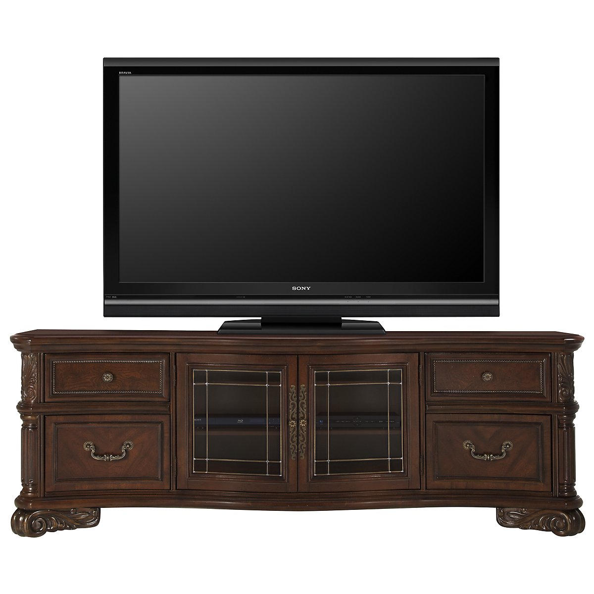 "Regal Dark Tone 86"" TV Stand"