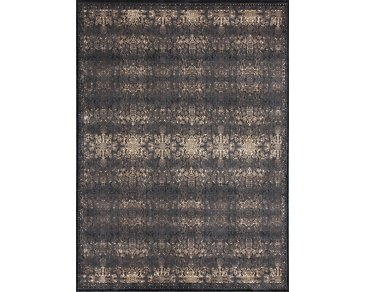Mystique Black 5X8 Area Rug