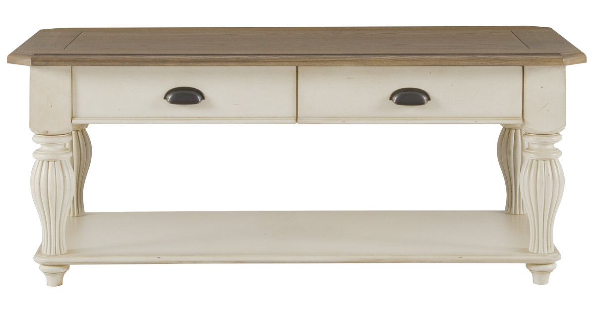 City Furniture Coventry Two Tone Rectangular Coffee Table