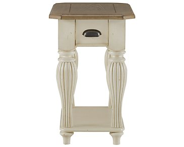 Coventry Two-Tone Chairside Table