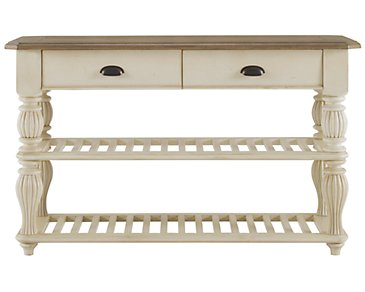 Coventry Two-Tone Console Table