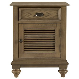 Coventry Light Tone Door Nightstand