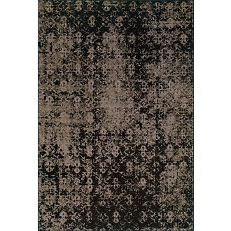 Revival Dk Gray 5X8 Area Rug
