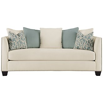 Product Image: Briget Teal Fabric Sofa