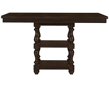 Mcgregor Dark Tone High Dining Table