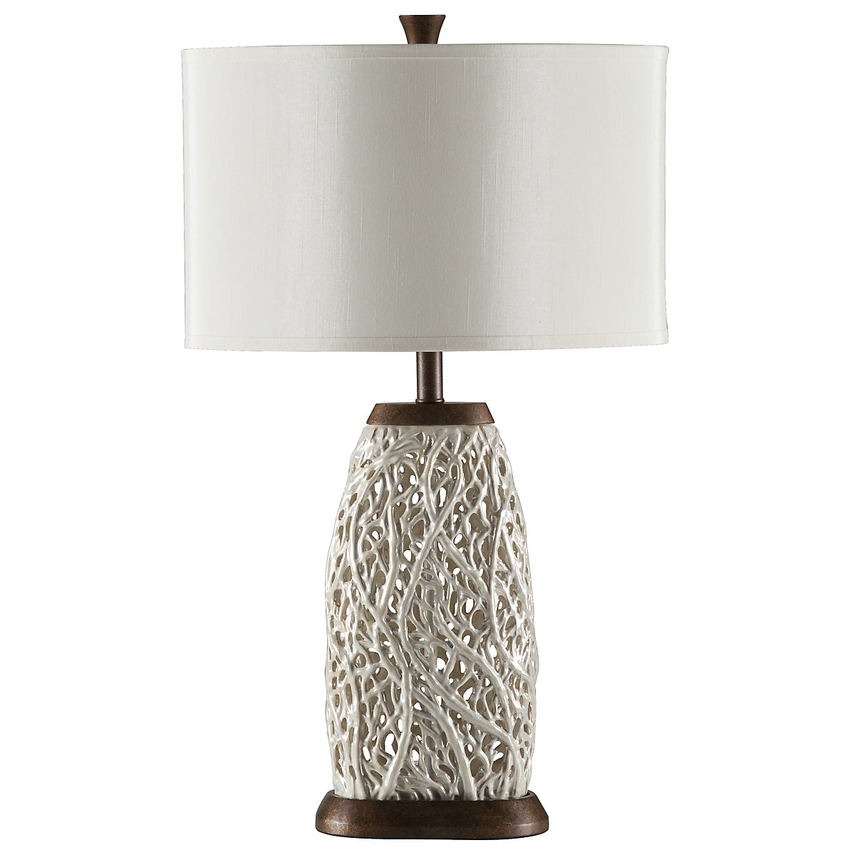 Seaspray White Table Lamp