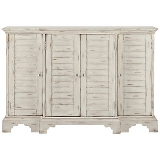 Keila White Accent Chest