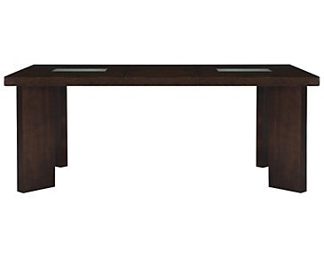 Delano2 Dark Tone Rectangular Table