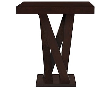 Tiffany Dark Tone Pub Table