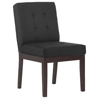 Berkley Dk Gray Upholstered Side Chair