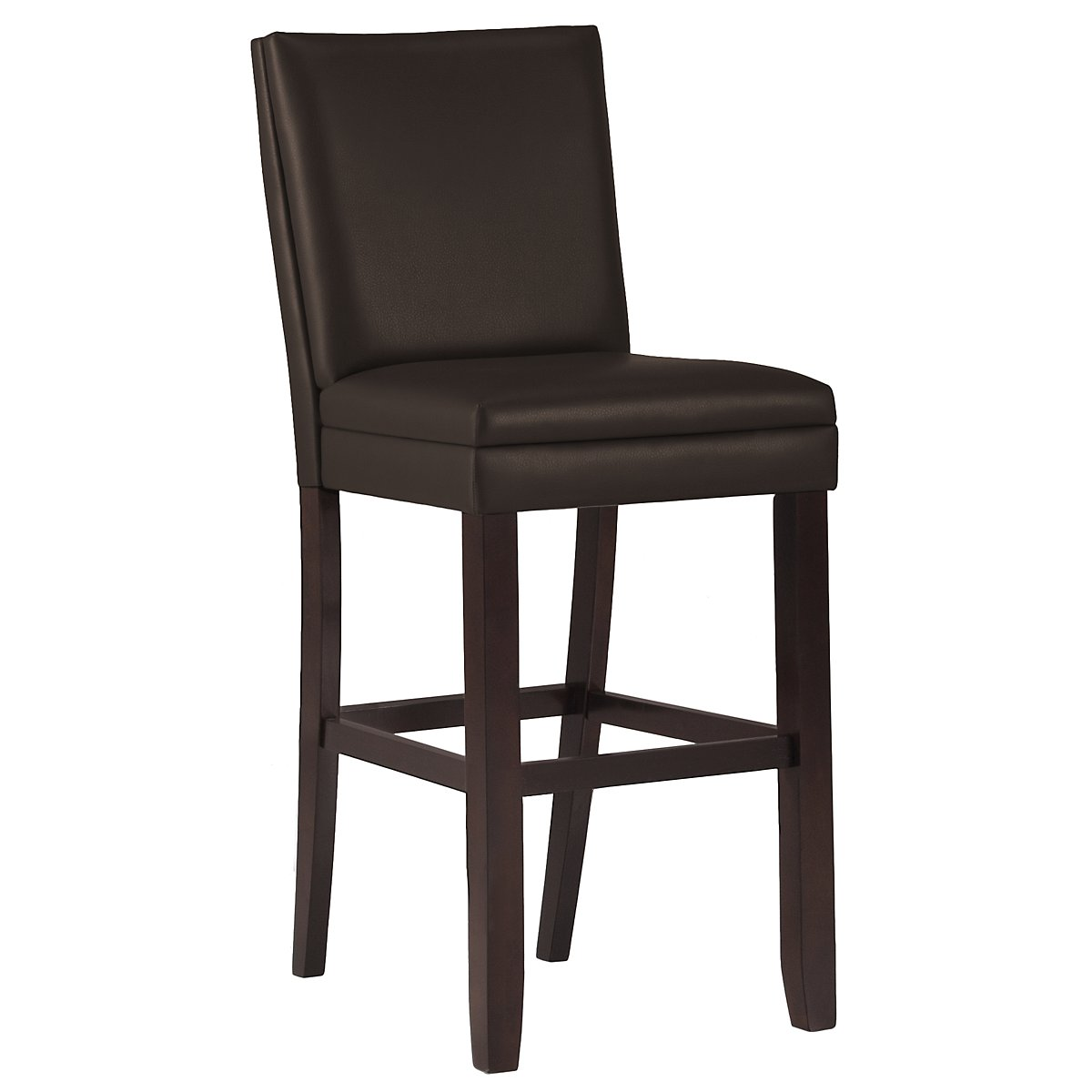 "Antonio Dk Brown 30"" Bonded Leather Barstool"