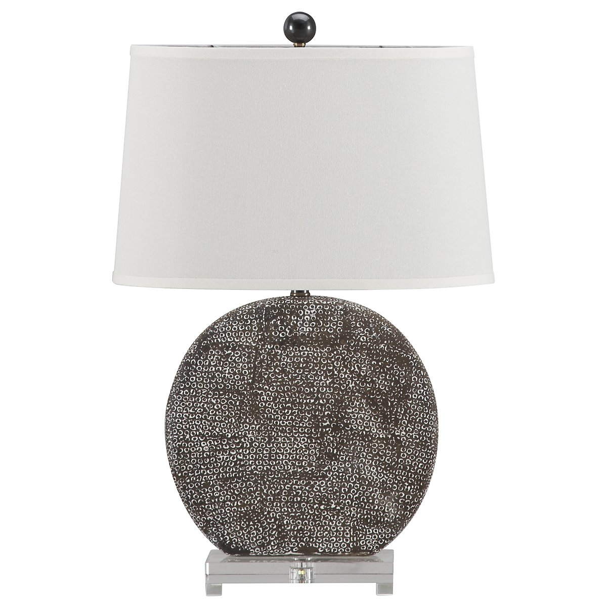 Albinus Lt Gray Table Lamp