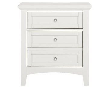 Captiva White Nightstand