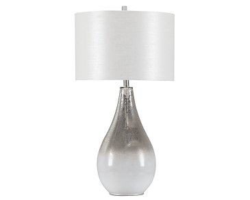 Amelia White Table Lamp
