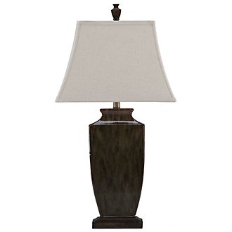 Earth Tone Green Table Lamp
