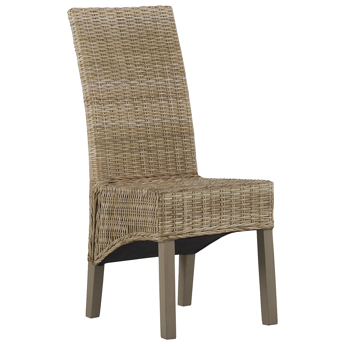 Jaden Light Tone Woven Side Chair