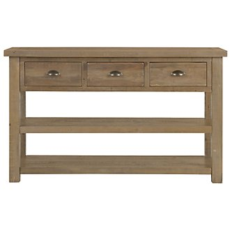 Jaden Light Tone Sofa Table