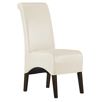 Avery2 Lt Beige Bonded Leather Upholstered Side Chair