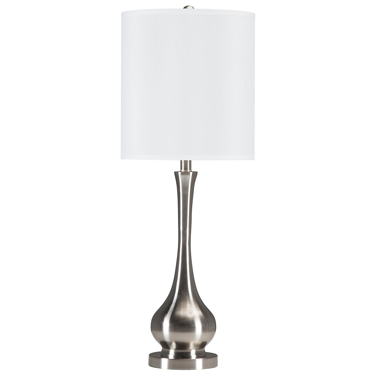 Camden Silver Table Lamp