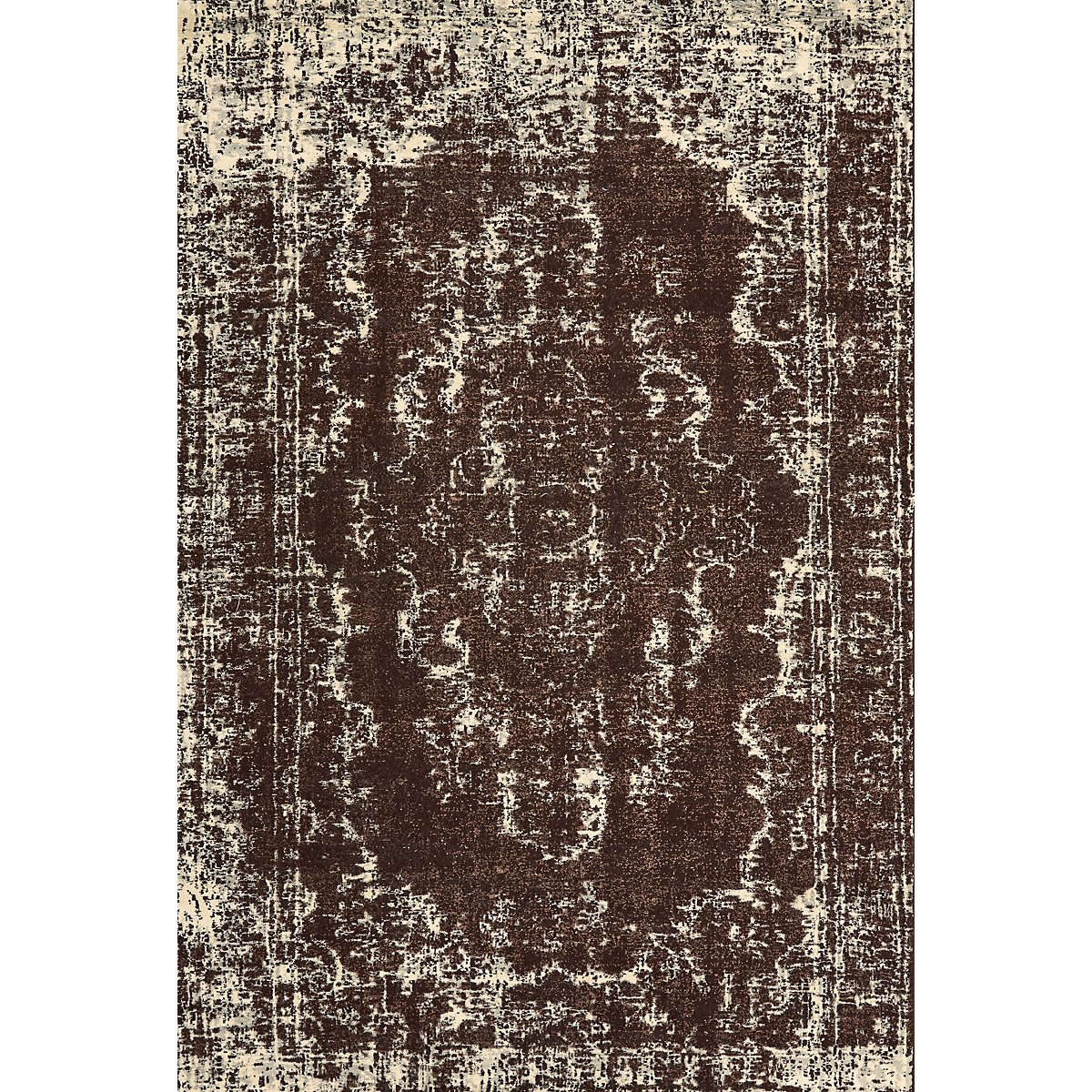 Azeri Dark Brown 5X8 Area Rug