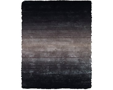 Indochine Gray 8X10 Area Rug