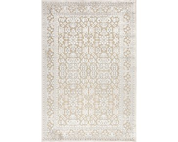Fables Beige 5X8 Area Rug