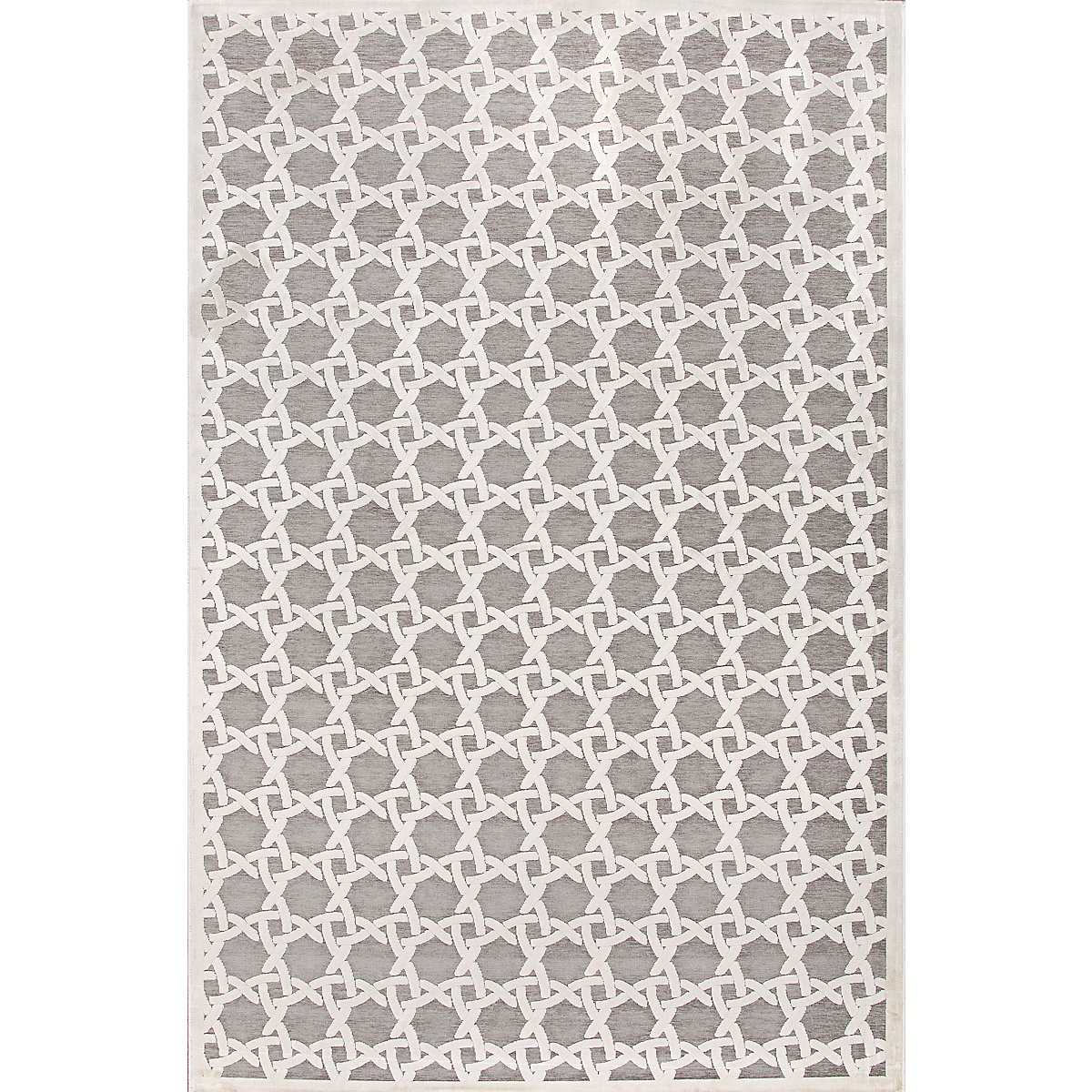 Trella Gray 5X8 Area Rug