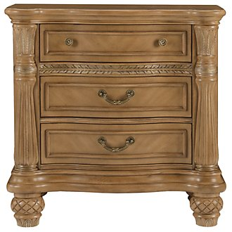 Tradewinds Light Tone Wood Nightstand