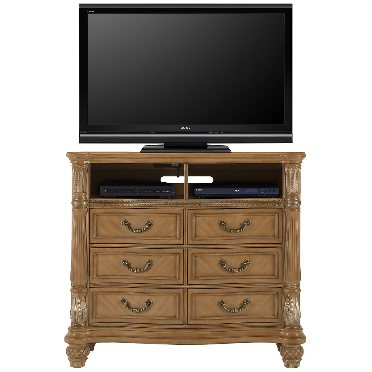 Tradewinds Light Tone Media Chest
