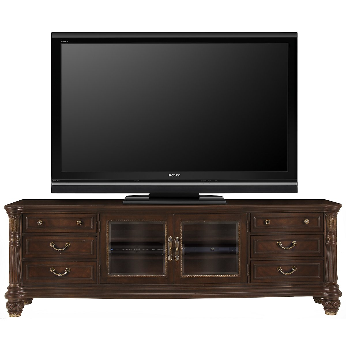 "Tradewinds Dark Tone 92"" TV Stand"