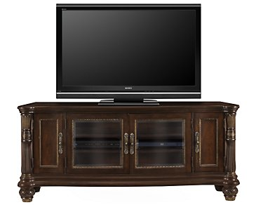 "Tradewinds Dark Tone 70"" TV Stand"
