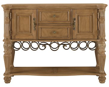 Tradewinds Light Tone Sideboard